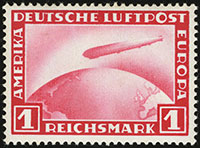 Zeppelin Airmail Issue