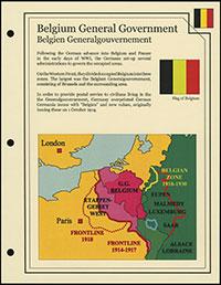 WWI Occupation – Belgium