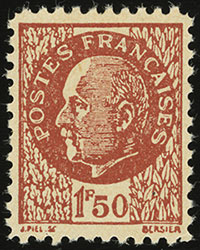 French Resistance Pétain Forgery