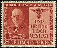 Field Marshal von Witzeleben Forgery