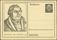 Birthday of Martin Luther