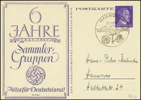 1941 6 Years of the KdF Sammler-Gruppen