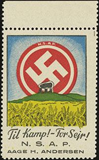 NSAP Propaganda Label