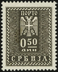 1943 Postage Dues