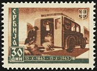 Centennial of the Serbian Post