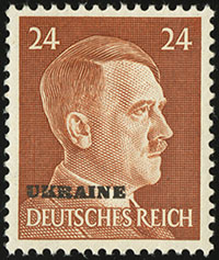 Hitler Overprints