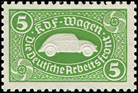 KdF Volkswagen Savings Stamp