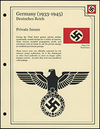 Third Reich Private Issues