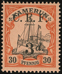 Yacht Stamp Overprints