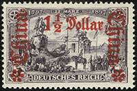 1905 Germania Overprints