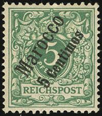 1899 Krone / Adler Overprints