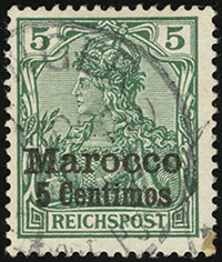 1903 Germania Overprints
