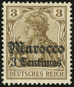 1906 / 1911 Germania Overprints