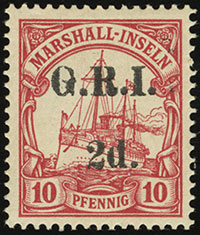 British Occupation Overprint Issues